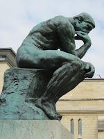 Rodin: tenkeren. Foto Rene Dugas, Pixabay. Fri bruk.
