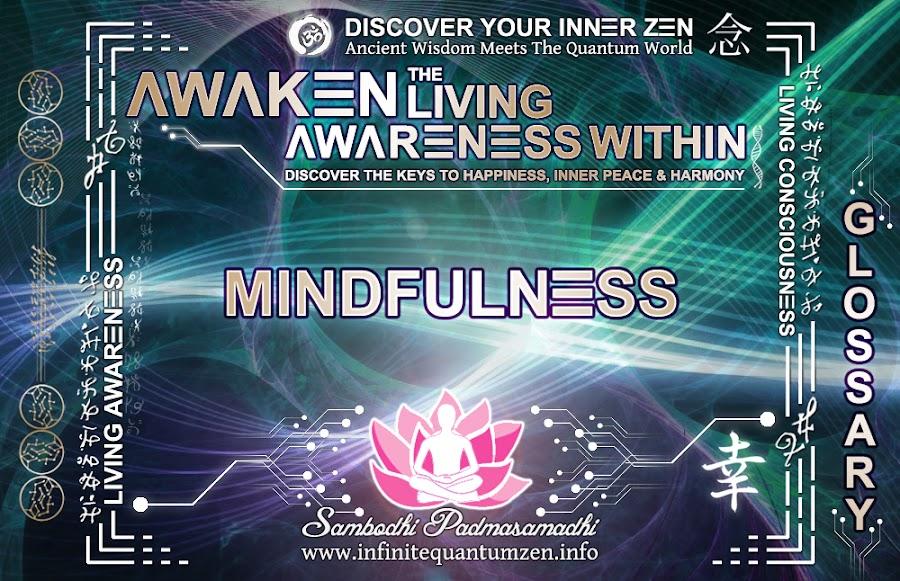 Mindfulness - Awaken the Living Awareness Within, Author: Sambodhi Padmasamadhi – Discover The Keys to Happiness, Inner Peace & Harmony | Infinite Quantum Zen