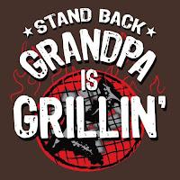 Stand Back, Grandpa is Grillin' Apron