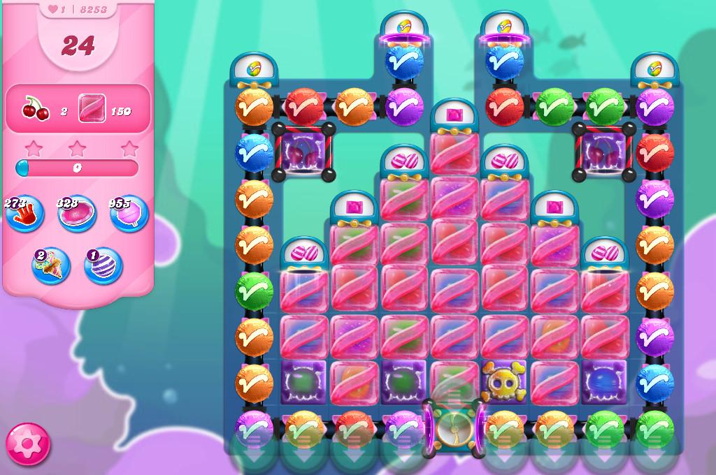 Candy Crush Saga level 8253