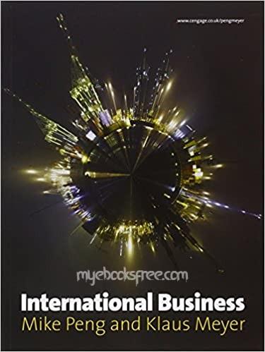 International Business Pdf Book Download