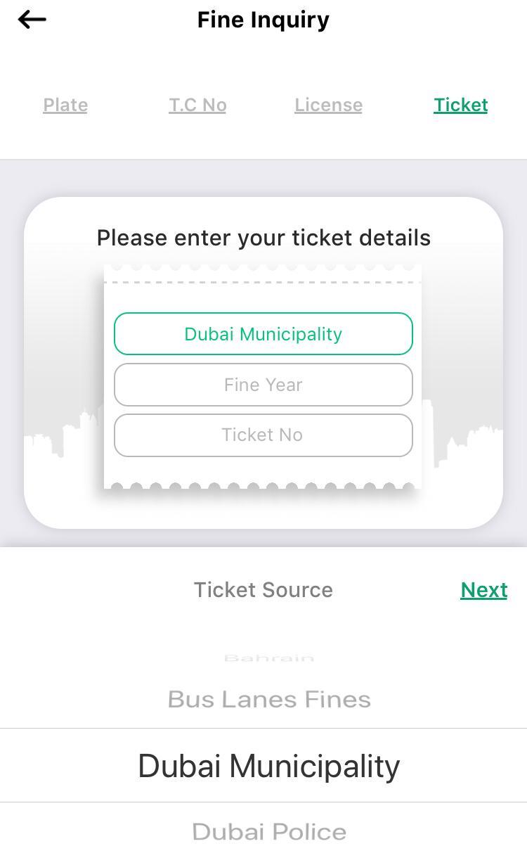 Check Dubai Fines Online