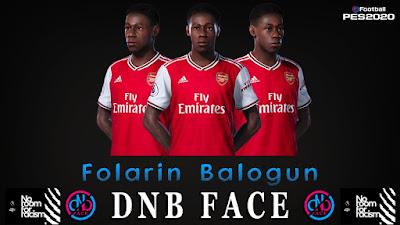 PES 2020 Faces Folarin Balogun by DNB