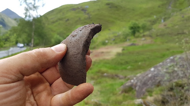 300-year-old musket ball and mortar shell discovered at site of 18th century Jacobite battle