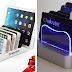 Chakrabit Fast Charging Universal 6-Port USB Charging Station Dock Compatible with Smartphones