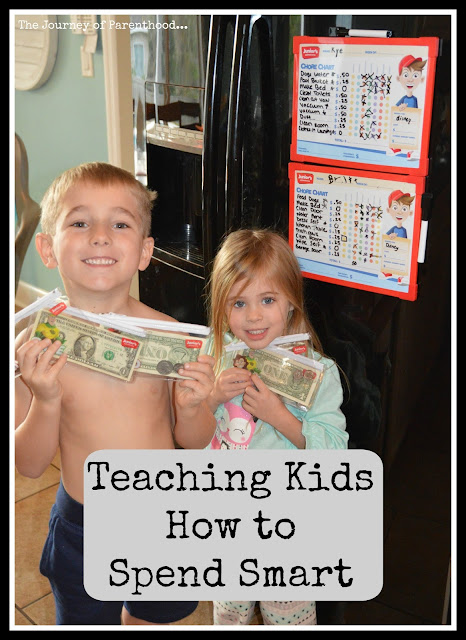 Teaching Kids How to Spend Smart