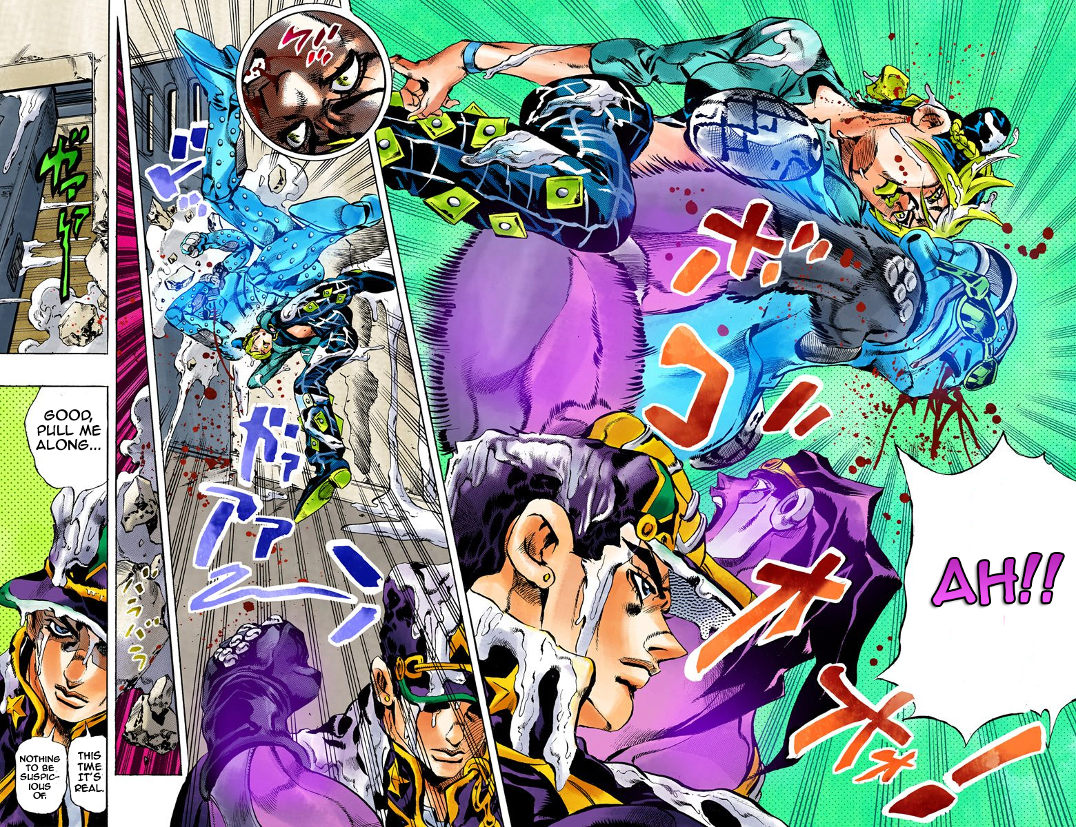 JoJo's Colored Adventure Team: Volume 2 and the visitor