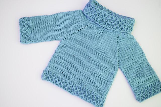 5 - Crochet Imagen jarsey de cuello alto a juego con falda a crochet y ganchillo por Majovel Crochet paso a paso
