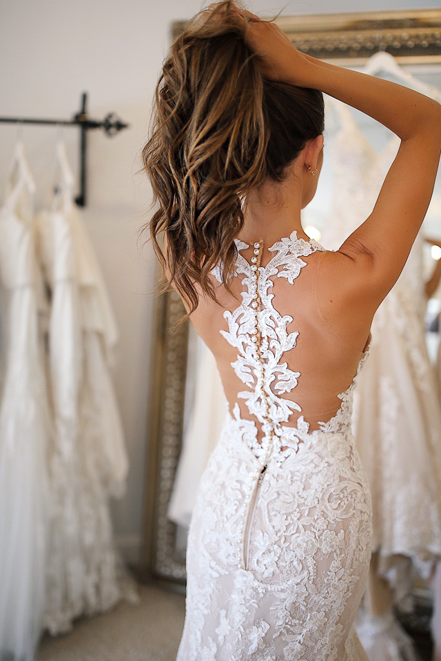 Southern Curls & Pearls: Wedding Dress Try-On