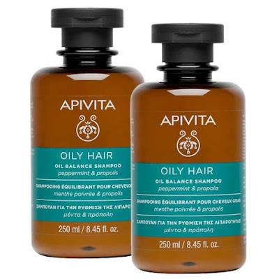Apivita - Oily hair shampoo δοκιμή