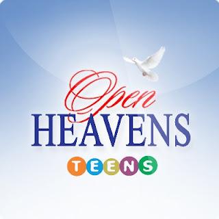 Open Heavens For TEENS: Thursday 21 September 2017 by Pastor Adeboye - Soldiers Of The Cross