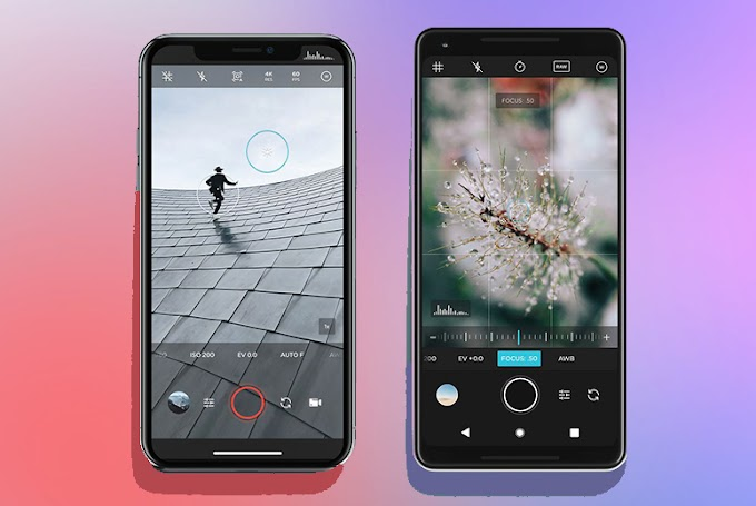 Top 10 DSLR like pro camera apps for android Free Download 2021