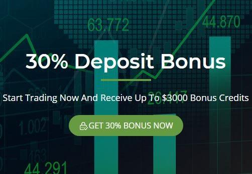 Bonus Deposit Just Perfect Markets 30% - Tradable Bonus