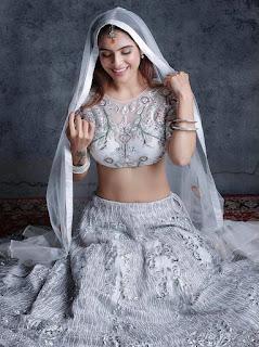 Neha Malik in Ghagra