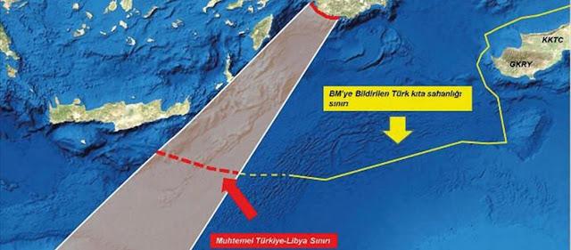 Η Τουρκία στέλνει πολεμικά σκάφη για να εφαρμόσει τη συμφωνία με τη Λιβύη