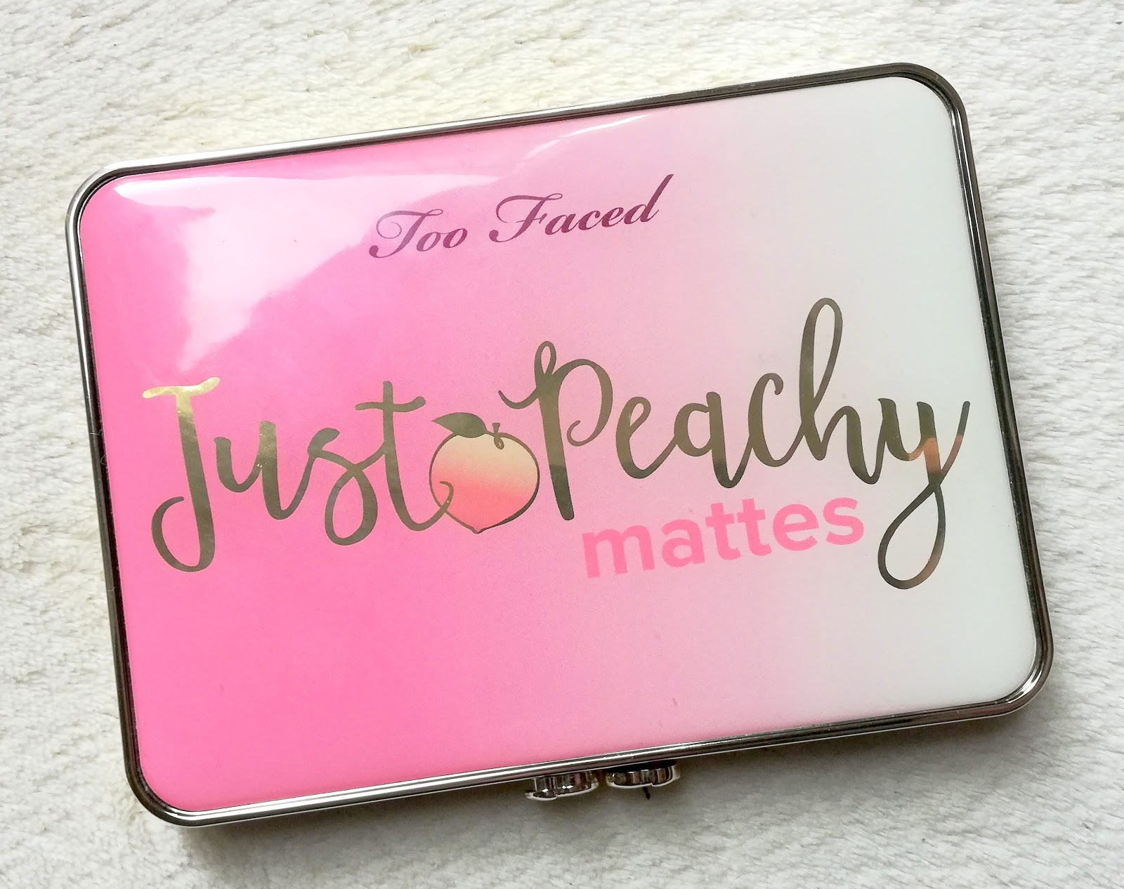Just Peachy Mattes 🍑 TOO FACED
