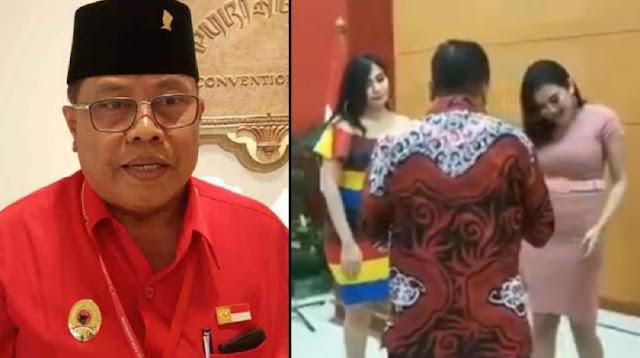 Baru Dilantik, Wali Kota Blitar Nyanyi & Joget Bareng Wanita 5eksi saat Tasyakuran