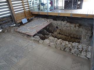 Hipocaustum. Villa romana de Santa Cruz