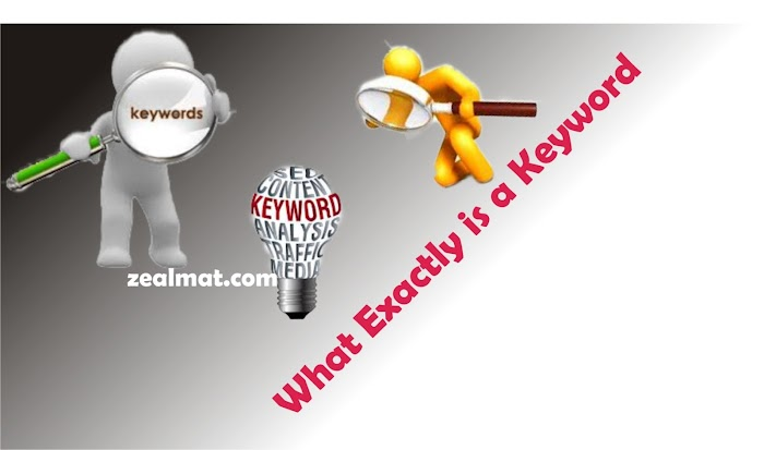 What exactly is a keyword