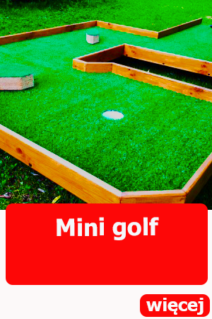 mini golf dmuchańce