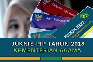 Pemerintah pusat melalui Kementerian Agama Republik Indonesia telah menerbitkan juknis te Geveducation:  Juknis PIP Kementerian Agama Tahun 2018