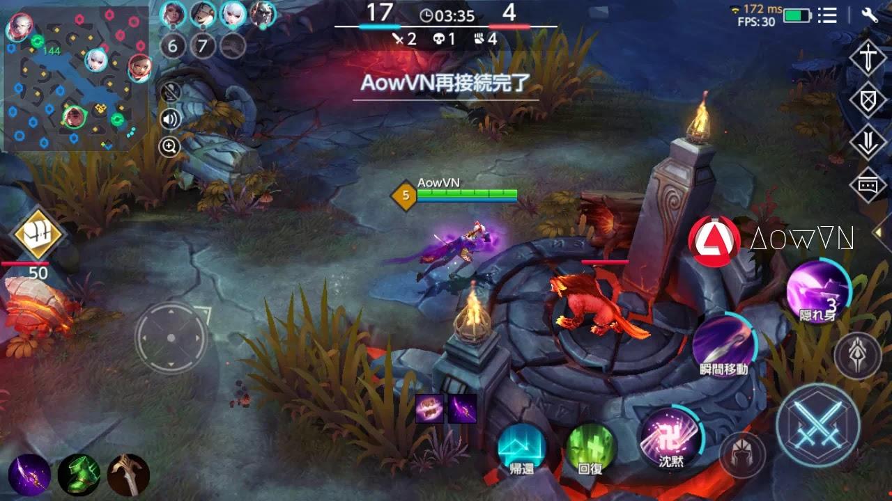 AowVN m%2B%25282%2529 - [ HOT ] War Song   Android & IOS -  Game MOBA Nhật tuyệt hay - Chính Thức Open