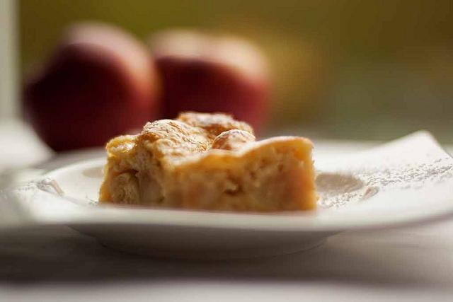 gâteau à la compote de pommes, sans gluten - dessert, goûter