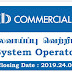 Commercial Bank of Ceylon PLC - SYSTEM OPERATOR