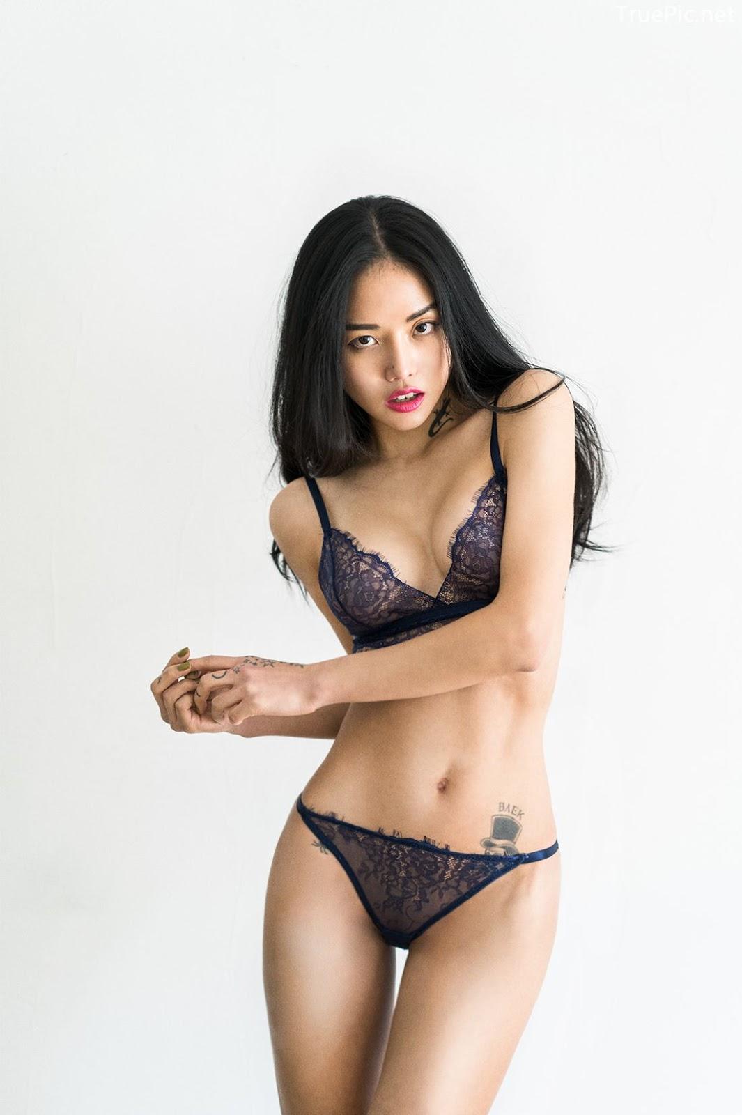 Korean Fashion Model - Baek Ye Jin - Sexy Lingerie Collection - TruePic.net - Picture 8