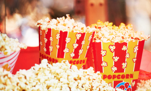 L.I. moviegoer dumps popcorn tub on noisy tot's head, hitting her