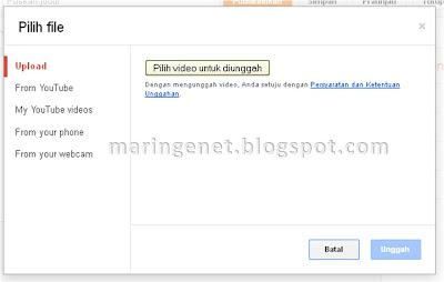 Menambahkan Video, Tampilan Baru Blogger