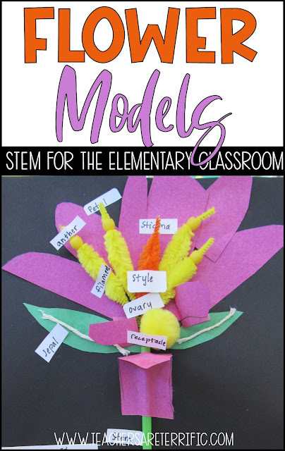 Seed dispersal, flower parts, bird feeders- all fabulous STEM Challenges featured on this post. Also includes little flip books you can make with your students. The resources have detailed teacher's guides, photos, and more! #STEM #elementary
