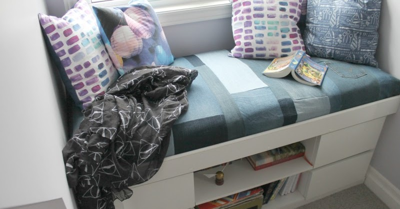 How To Make A Simple Diy Window Seat Cushion From
