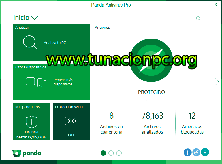 Panda Antivirus Pro Imagen