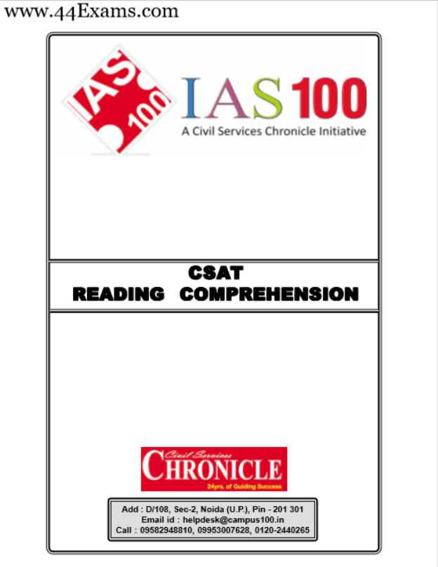 Reading-Comprehension-by-Chronicle-IAS-Academy-For-All-Competitive-Exam-PDF-Book