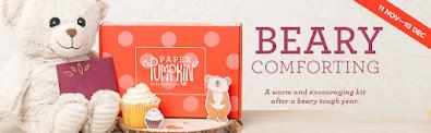 Paper Pumpkin December 2020 -- Beary Comforting Card Kit