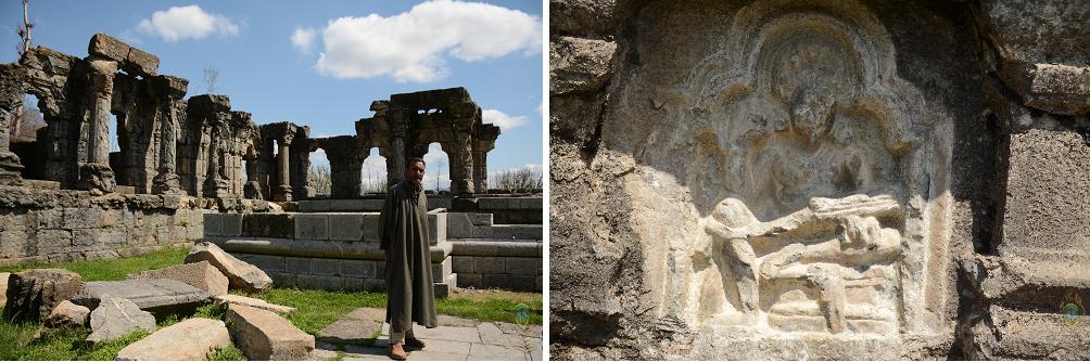 ధ్వంసం కాబడిన మార్తాండ మందిరం