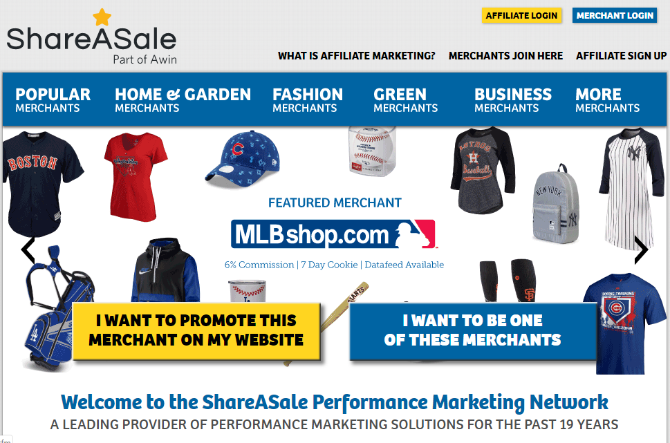 ShareASale Marketplace