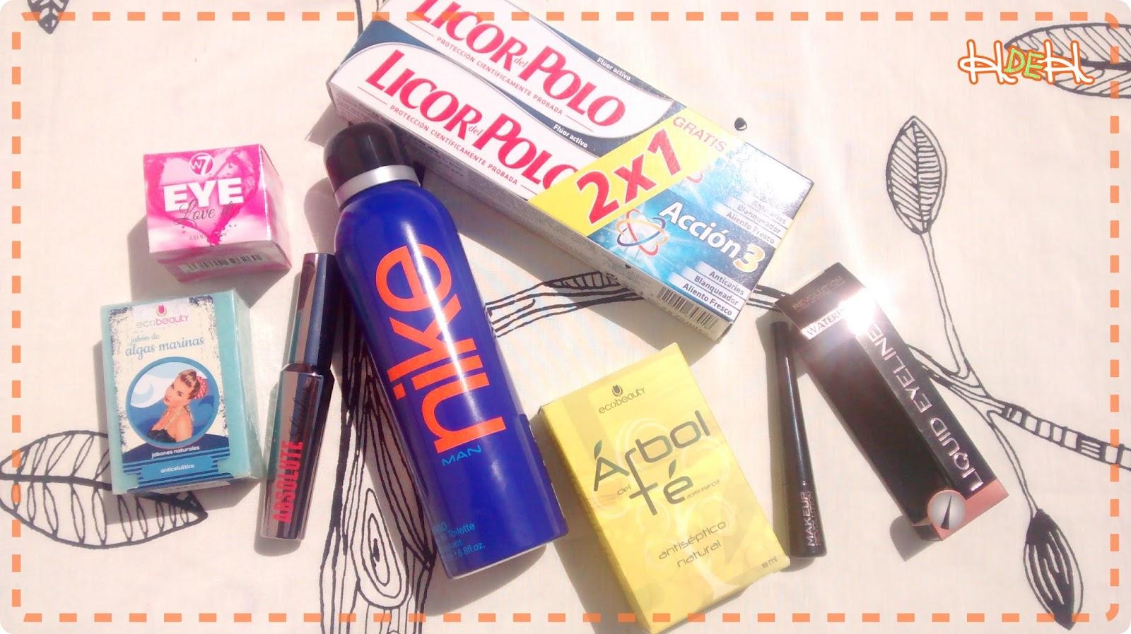 haul primor cosmetica maquillaje w7