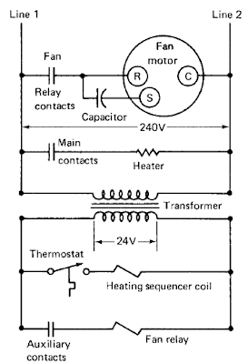 electric heating system basic operation and diagram all. Black Bedroom Furniture Sets. Home Design Ideas
