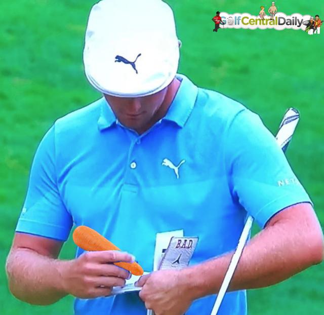 Bryson DeChambeau Funny Pic GolfCentralDaily