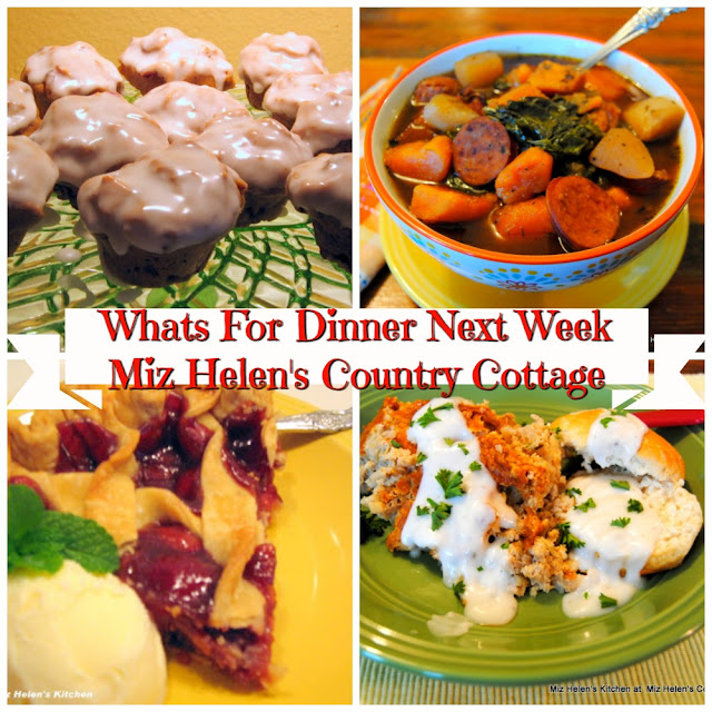 Whats For Dinner Next Week,12-8-19 at Miz Helen's Country Cottage