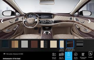 Nội thất Mercedes Maybach S600 2016 màu Vàng Silk (975)