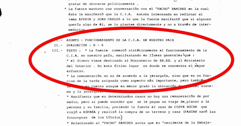 El muerto la cia espiada en uruguay for Nomina de funcionarios del ministerio del interior