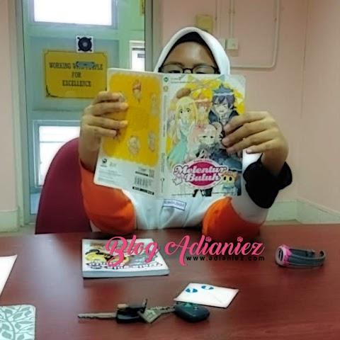 Hobi Kak Nurin   Membaca, Anime dan phone