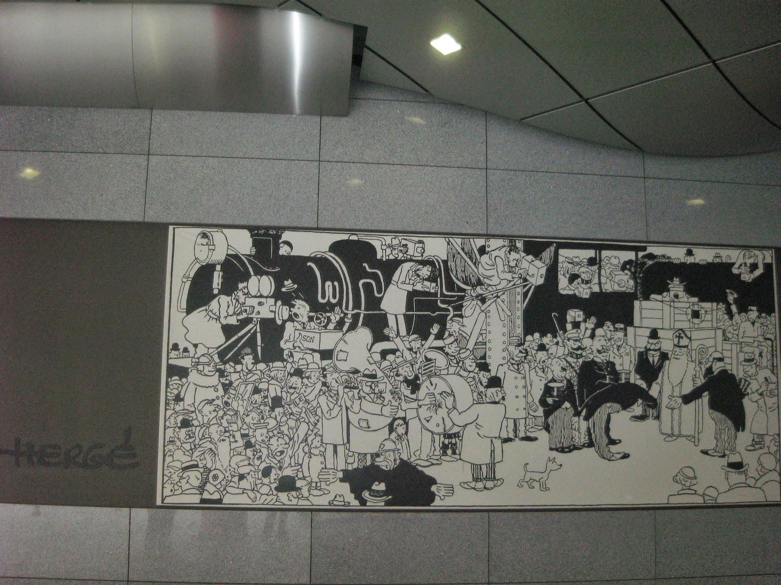Mural de cómic