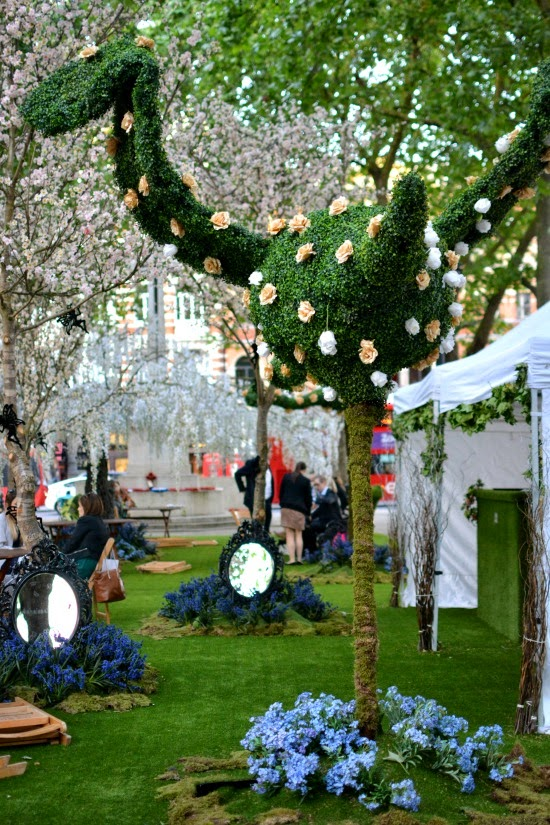 Sloane Square Chelsea in Bloom 2015