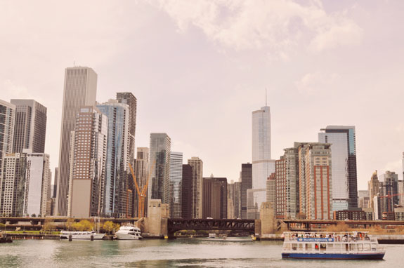2 days in Chicago itinerary: Chicago skyline from the Architecture Foundation River Cruise