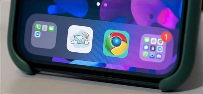رموز التطبيقات المخصصة على iPhone