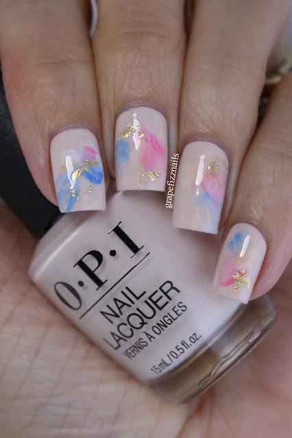 OPI Abstract Nail Art